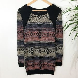 Nordstrom/BP Sweaters - BP Aztec Pattern Long Sweater Size Small